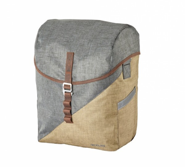 Racktime Seitentasche Mia sand/grau