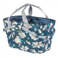 City-Tasche Basil MagnoliaCarry All Rear MIK teal blue, 50x28x27cm, abnehmbar