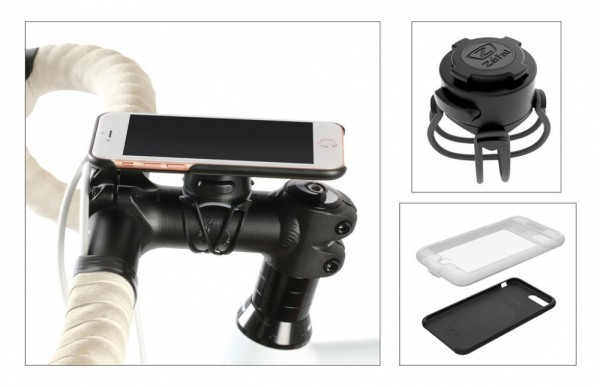 Smartphone-Halter Zefal Z Console full kit für iPhone 7/8 138,3x67,1x7,1mm