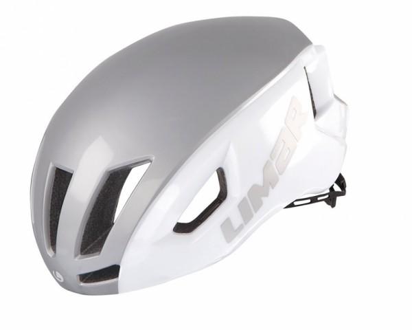 Fahrradhelm Limar Air Speed weiß/silber Gr.L (57-61cm)