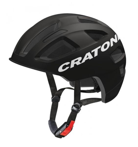 Fahrradhelm Cratoni C-Pure (City) Gr. S/M (54-58cm) schwarz matt