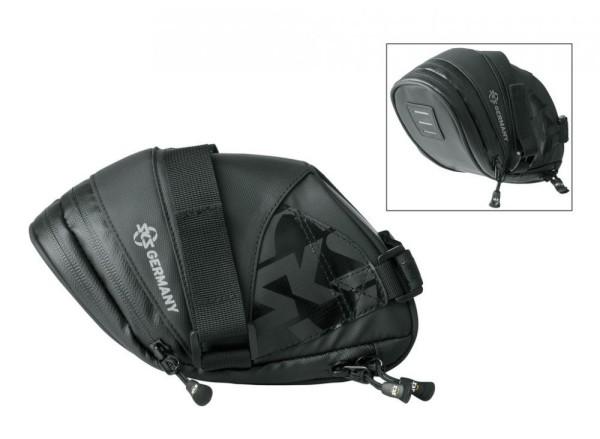 Satteltasche SKS Explorer Straps 1800 schwarz,180+40x80x130+10mm 186g 1,8L