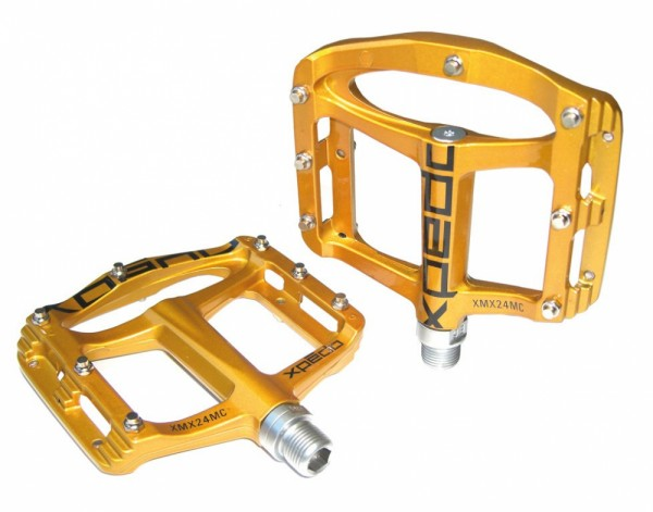 """Pedal Xpedo SPRY gold , 9/16"""", XMX24MC"""
