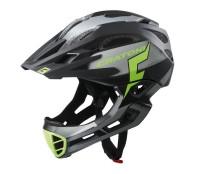Fahrradhelm Cratoni C-Maniac Pro (MTB) Gr. S/M (52-56cm) schwarz/lime matt