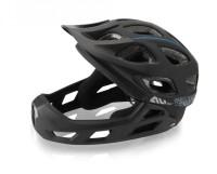 XLC All MTN Full Face Fahrradhelm BH-F05, Gr.S/M (52-56cm), schwarz