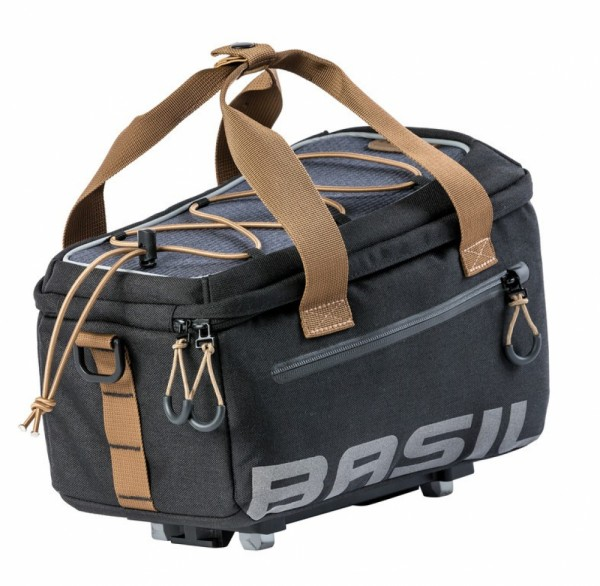 Gepäckträgertasche Basil Mik Miles black slate,wasserdicht, 7 Ltr.