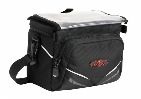 Lenker-Tasche Norco Canmore E schwarz, 26x19x19cm, ca.800g, 0243AE