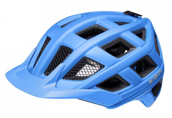 KED Fahrradhelm Crom (2021),  blue matt, L 57-62 cm