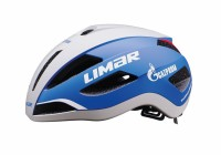 Fahrradhelm Limar Air Master weiß/blau, Gr. M (53-57cm)