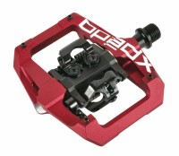 "Pedal Xpedo Clipless GFX rot, 9/16"", XGF04AC"