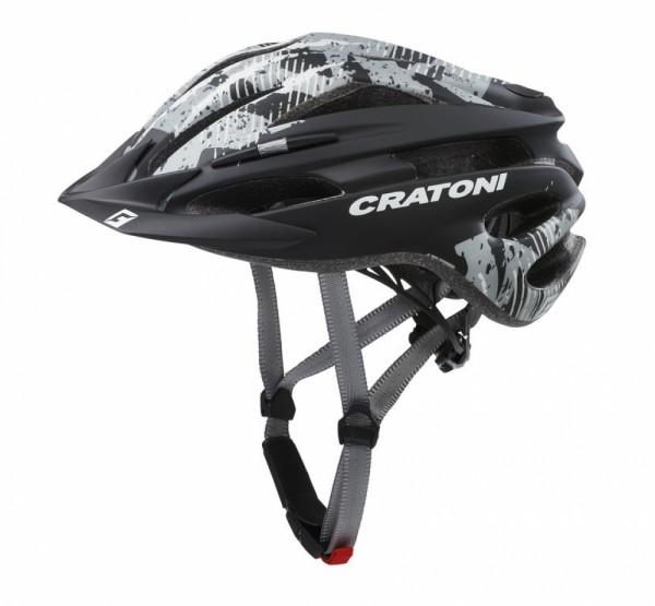 Fahrradhelm Cratoni Pacer (MTB) Gr. S/M (54-58cm) schwarz/anthrazit matt