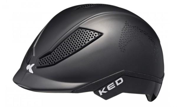 KED Fahrradhelm Pina (2020), Black Matt Script - Größe: S 50-53 cm
