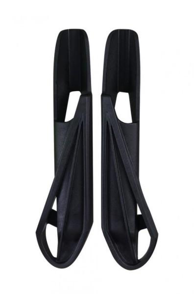 Kunststofffüße Ursus Jumbo rechts+links schwarz, per Paar