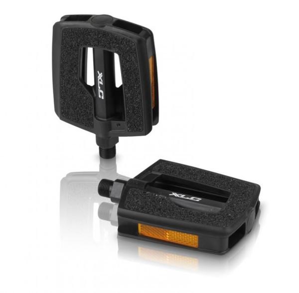 XLC City-/Comfort-Pedal PD-C13 Kunststoff, Griptape-Oberfläche, schwarz