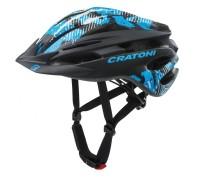 Fahrradhelm Cratoni Pacer (MTB) Gr. XS/S (49-55cm) schwarz/blau matt