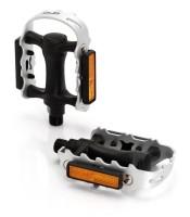 XLC MTB-Pedal PD-M01 Alukäfig,Kunststoffkörper,schwarz/silber
