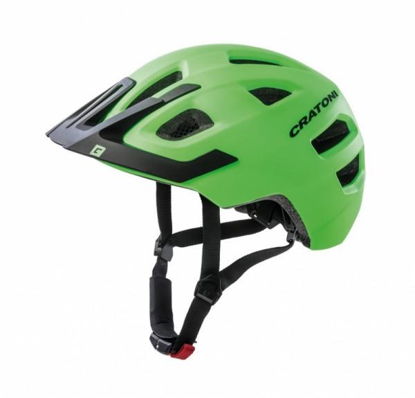 Fahrradhelm Cratoni Maxster Pro (Kid) Gr.S/M (51-56cm) lime/schwarz matt