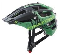 Fahrradhelm Cratoni AllTrack (MTB) Gr. S/M (54-58cm) grün matt