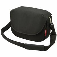 Schulter-Tasche KLICKfix Fun Bag schwarz, 25x19x8cm, ohne Lenkeradapter