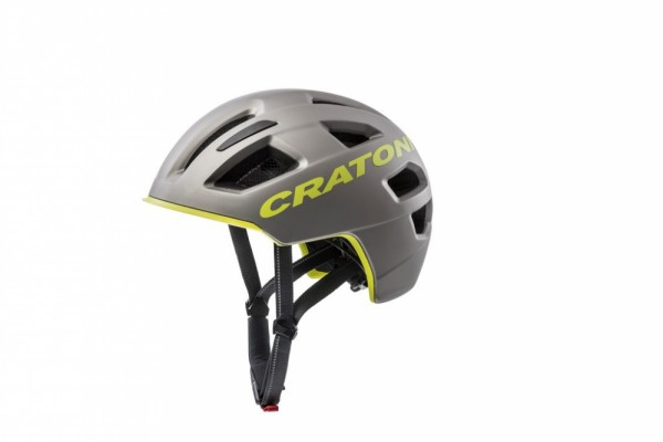 Fahrradhelm Cratoni C-Pure (City) Gr. M/L (58-61cm) anthrazit-lime matt