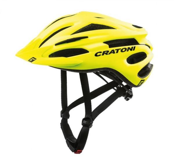 Fahrradhelm Cratoni Pacer (MTB) Gr. L/XL (58-62cm) neongelb matt