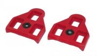 Ersatzcleats Xpedo Look-System 9° rot, Look Delta kompatibel