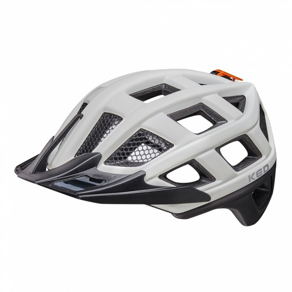 KED Fahrradhelm Crom (2020), White Black Matt - Größe: L 57-62 cm