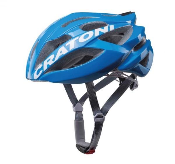Fahrradhelm Cratoni C-Bolt (Road) Gr. M/L (56-59cm) blau/weiß glanz