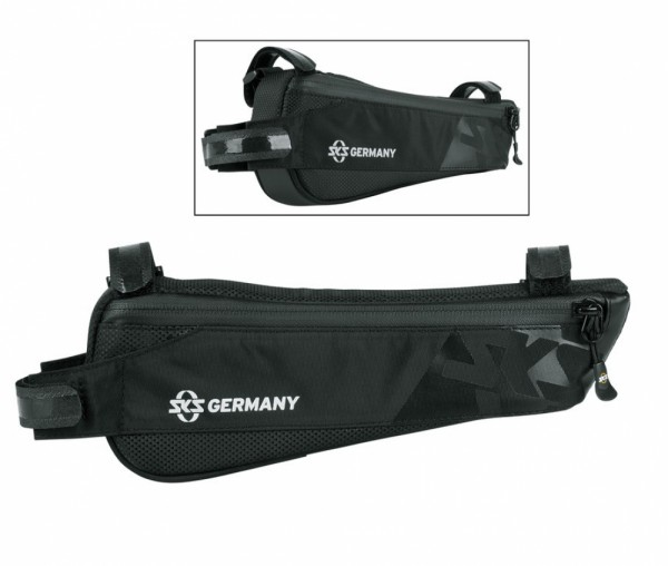 Rahmentasche SKS Racer Edge schwarz,250x40x90mm 124g 0,6L