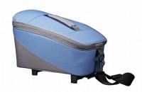 Racktime System Tasche Talis blau/grau, inkl. Snapit Adapter