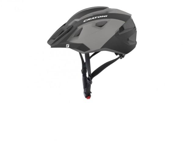 Fahrradhelm Cratoni AllRide (MTB) Gr. Uni (53-59cm) schwarz/anthrazit matt