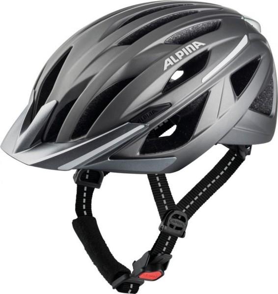 Fahrradhelm Alpina Haga darksilver matt Gr.55.59