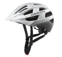 Fahrradhelm Cratoni Velo-X (City) Gr. S/M (52-57cm) weiß matt