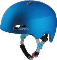 Fahrradhelm Alpina Hackney translucent blue Gr.51-56