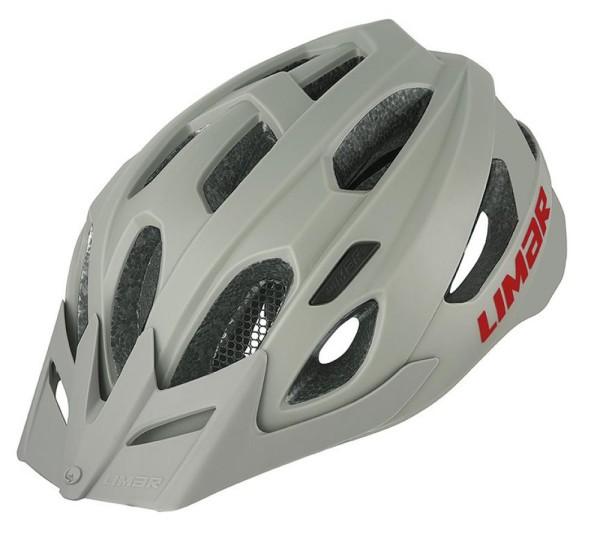 Fahrradhelm Limar Berg-EM matt-sandgrau Gr.L (57-62cm)