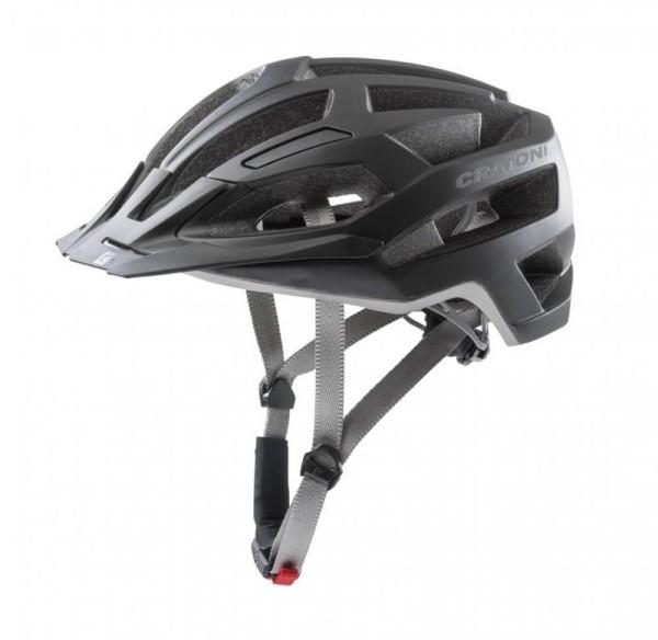 Fahrradhelm Cratoni C-Flash (MTB) Gr.L/XL (59-62cm) schwarz/anthrazit matt