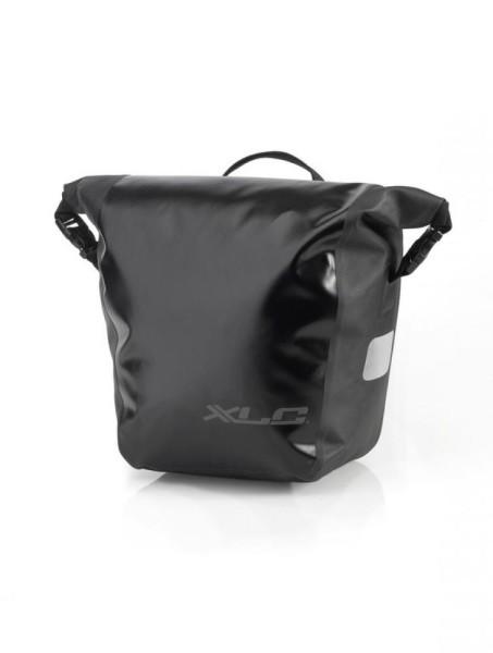 XLC Einzeltaschenset wasserdicht schwarz 28x14x30cm