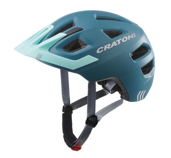 Fahrradhelm Cratoni Maxster Pro (Kid) Gr. XS/S (46-51cm) steel/blau matt