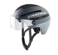 Fahrradhelm Cratoni Commuter (Pedelec) Gr. M/L (58-61cm) grau matt