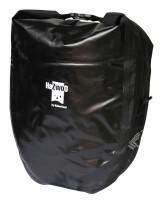 Einzeltaschen-Paar Haberland Wasserdicht schwarz, 37x43x16cm, 50 ltr