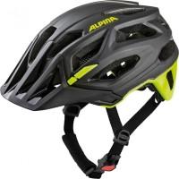 Fahrradhelm Alpina Garbanzo black-neon-yellow Gr.52-57cm
