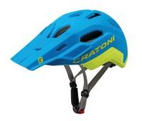 Fahrradhelm Cratoni C-Maniac 2.0 Trail Gr. M/L (54-58cm) blau/lime matt