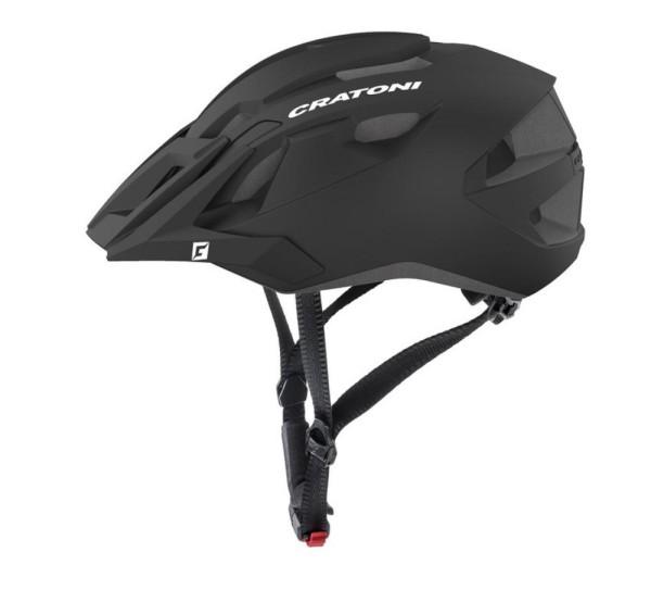 Fahrradhelm Cratoni AllRide (MTB) Gr. L/XL (57-62cm) schwarz matt
