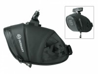 Satteltasche SKS Explorer Click 800 schwarz, 160x70x110mm 160g 0,8L
