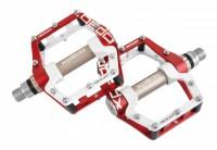 """Pedal Xpedo FACEOFF 18 rot/weiß, 9/16"""", XMX18AC"""
