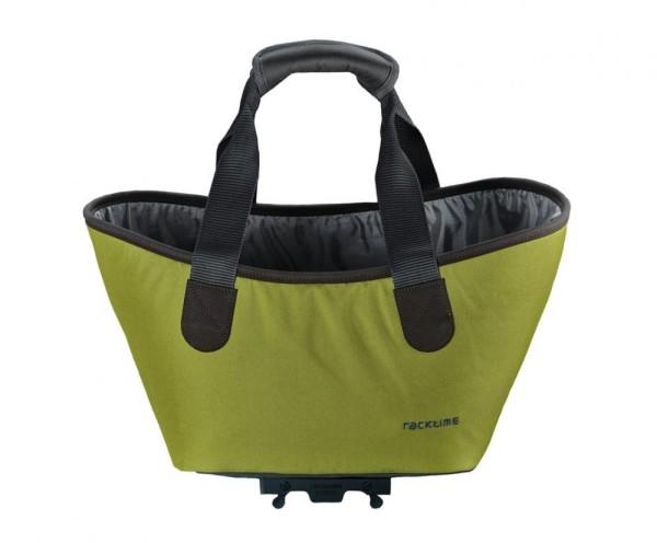 Racktime System Einkaufstasche Agnetha lime grün, inkl. Snapit Adapter