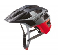 Fahrradhelm Cratoni AllSet (MTB) Gr. M/L (58-61cm) rot/schwarz matt