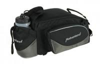 Gepäckträgertasche Haberland Flexibag L schwarz/grau, 39x16x25cm, 16ltr, UniKlip