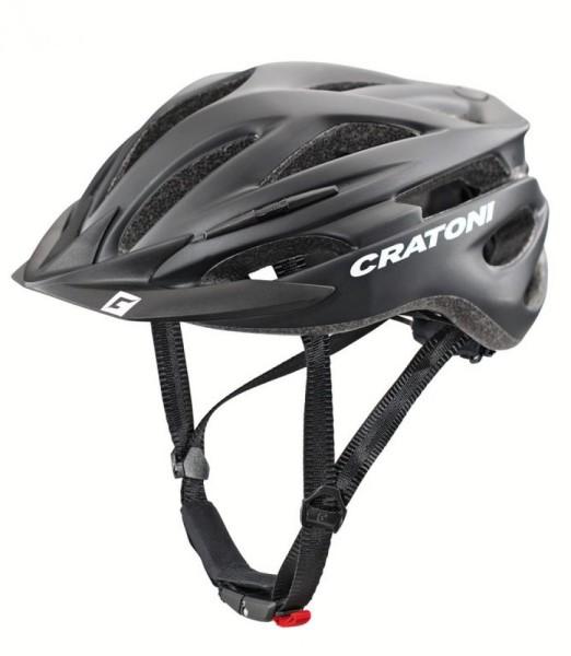 Fahrradhelm Cratoni Pacer (MTB) Gr. S/M (54-58cm) schwarz matt