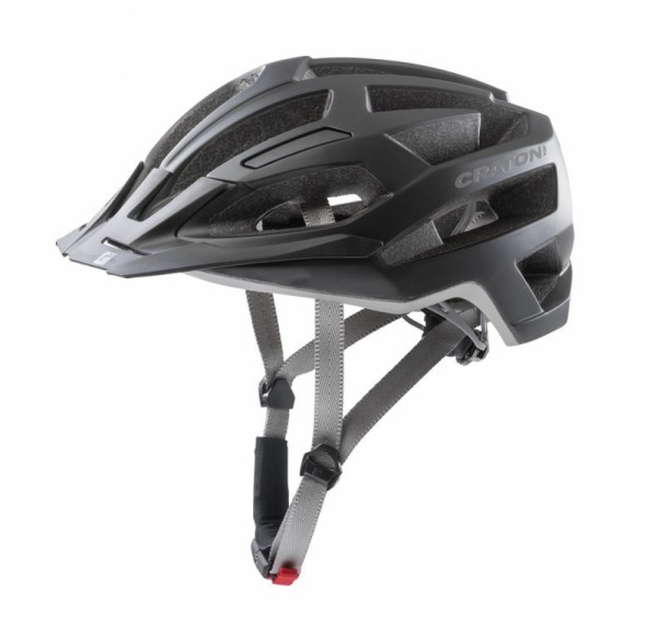 Fahrradhelm Cratoni C-Flash (MTB) Gr.M/L (56-59cm) schwarz/anthrazit matt